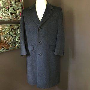HAMMERSLEY Vintage Wool Cashmere Coat - 40R